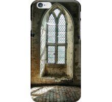 Old Soar Manor Chapel Window iPhone Case/Skin