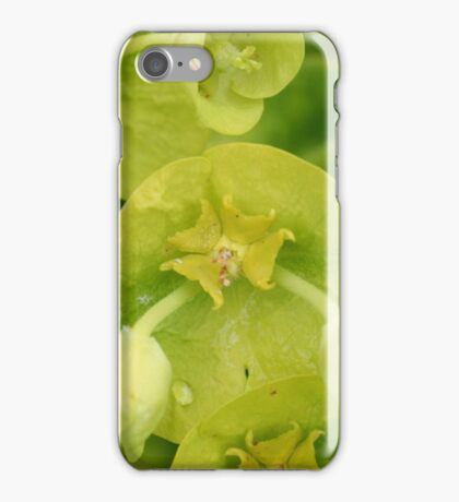 Green and Yellow Flowers iPhone Case/Skin