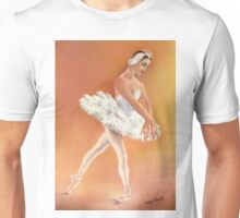 Odette Dancing in Swan Lake Unisex T-Shirt