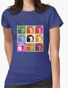 Warhol Photobooth Womens Fitted T-Shirt