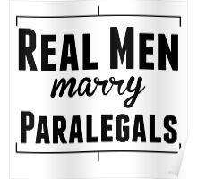 Real Men Marry Paralegals Poster