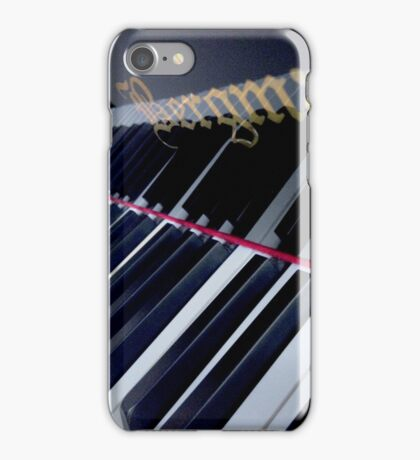Piano Reflection iPhone Case/Skin