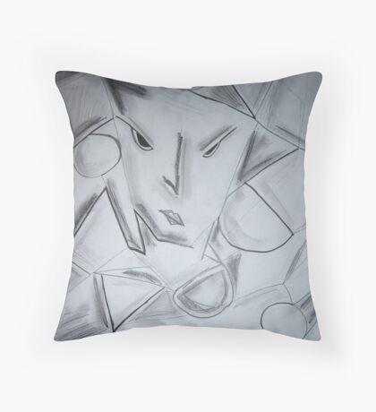 Puzzle Man Throw Pillow