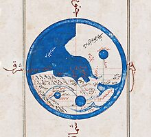Ancient Egyptian world map by UrbanRoamer