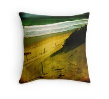Toy camera - Anglesea Throw Pillow