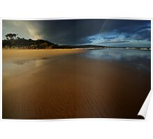 Anglesea Inlet, sunset Poster