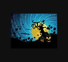 Halloween party background with pumpkins 2 Unisex T-Shirt