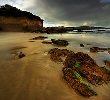 Anglesea Inlet, sunset by Mike Emmett