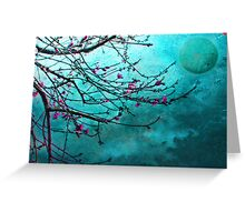 Nectarine Blossom Greeting Card