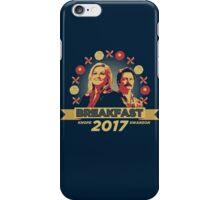 Breakfast 2017 iPhone Case/Skin