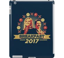Breakfast 2017 iPad Case/Skin