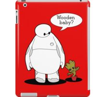 Wooden Baby iPad Case/Skin