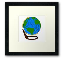 What is the Ocean but a Multitude of Drops Framed Print