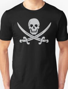 Pirate Logo (White) T-Shirt