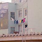 Larkin Street Laundry by Tomoe Nakamura