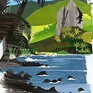 Hatiheu Bay by mikeyfreedom