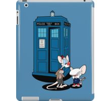 Gee Doctor What Are We Going To Do Tonight? iPad Case/Skin