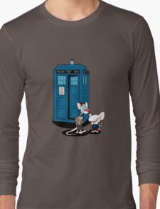 Gee Doctor What Are We Going To Do Tonight? Long Sleeve T-Shirt