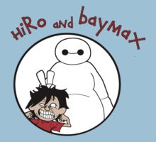 Hiro and Baymax by TopNotchy
