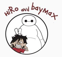 Hiro and Baymax Kids Clothes
