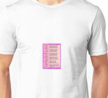 unheard love Unisex T-Shirt