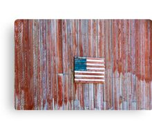 Rural Patriot Metal Print