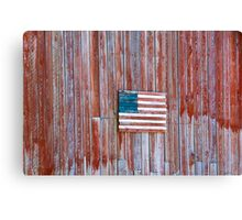 Rural Patriot Canvas Print