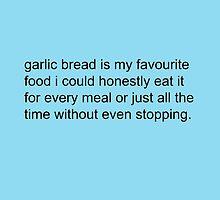 Scott Pilgrim - Garlic Bread by Quinn Baker