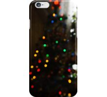 Bokeh of Christmas Tree 4 iPhone Case/Skin
