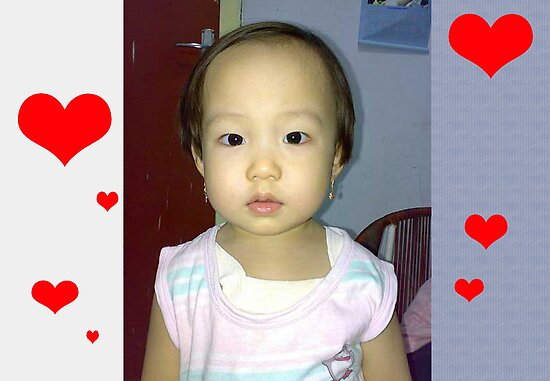 cute baby by burukutuk