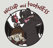 Hiccup and Toothless by TopNotchy