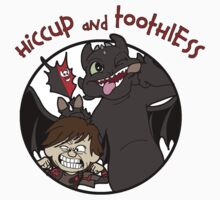 Hiccup and Toothless Kids Clothes