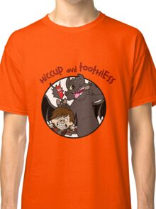 Hiccup and Toothless Classic T-Shirt
