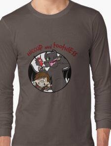 Hiccup and Toothless Long Sleeve T-Shirt