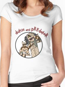 Dutch and Predator Women's Fitted Scoop T-Shirt