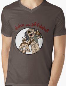 Dutch and Predator Mens V-Neck T-Shirt