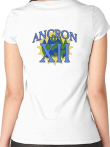 Angron - Sport Jersey Style (alternate) Women's Fitted Scoop T-Shirt