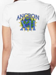 Angron - Sport Jersey Style (alternate) Women's Fitted V-Neck T-Shirt