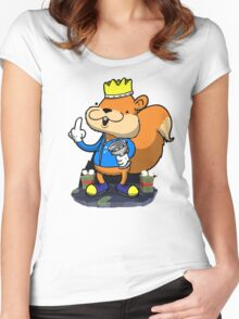 King of all the land! Women's Fitted Scoop T-Shirt