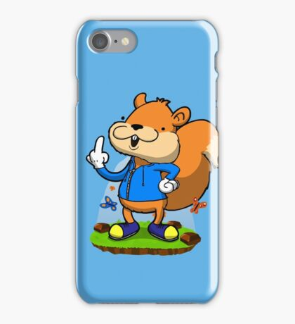 A very bad fur day. iPhone Case/Skin