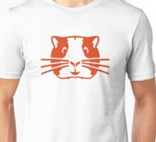 Hamster head face Unisex T-Shirt