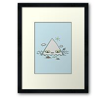 The Bermuda Triangle Framed Print