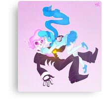 Mystery Skulls Ghost - Lewis and Vivi Metal Print
