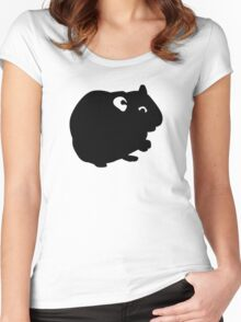 Hamster Women's Fitted Scoop T-Shirt