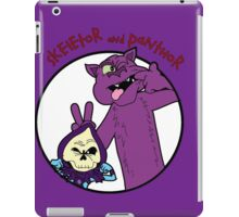 Skeletor and Panthor iPad Case/Skin