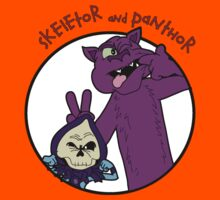 Skeletor and Panthor Kids Tee
