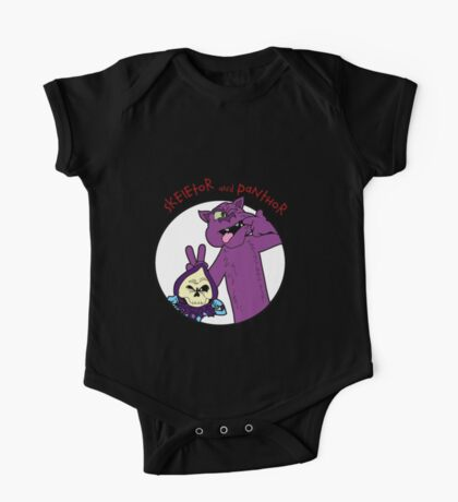 Skeletor and Panthor One Piece - Short Sleeve