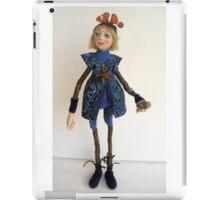 Water Spirit Nature Girl - art doll figurative sculpture  iPad Case/Skin