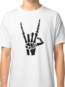 Skeleton rock hand Classic T-Shirt