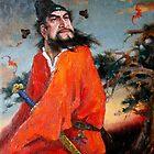 Zhong Kui, 钟馗 - Portrait 3 by Ze Zhao